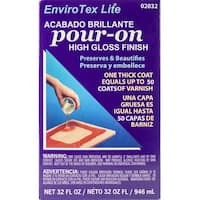 Envirotex Lite Pour-On High Gloss Finish Kit-