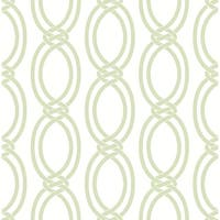 Brewster 2625-21836 Infinity Light Green Geometric Stripe Wallpaper - light green geometric - N/A