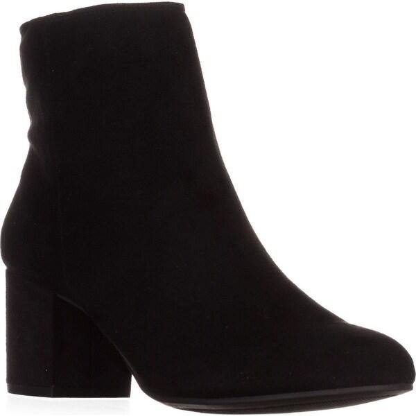 Rebel by ZIGI Nanon Ankle Boots, Black