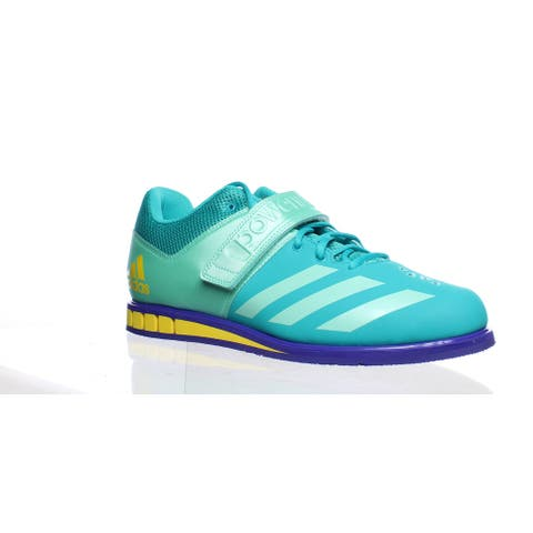 Adidas Womens Powerlift 3.1 Teal Weightlifting Shoes Size 15