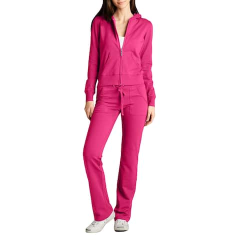 NE PEOPLE Womens Hoodie and Sweatpants Tracksuit Set