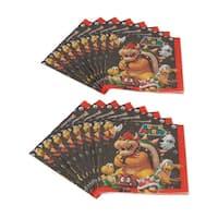 Super Mario Bros. Luncheon Napkins, 16 Count - Multi