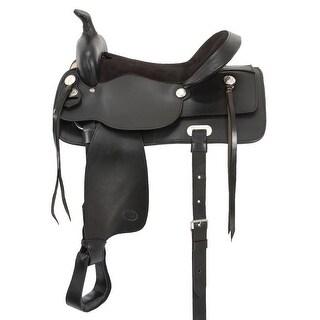 Tough-1 Saddle Western King Series Pleasure Trail Quick Change