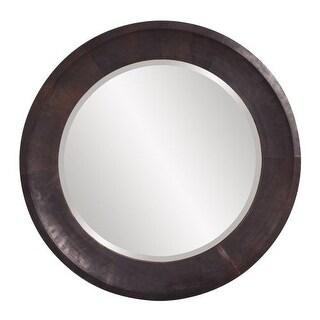 """Howard Elliott 37140 Montego 30"""" x 30"""" Metal Round Mirror"""
