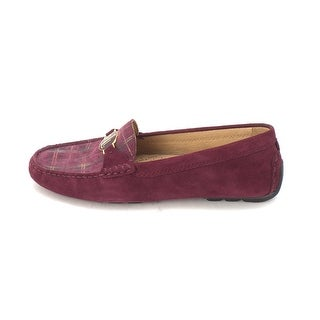 Ralph Lauren Womens Carley Leather Closed Toe Loafers