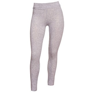 Real Love Girls Grey Solid Color Stretchy Casual Trendy Leggings