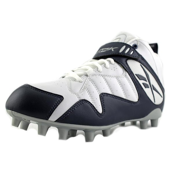 Reebok Pro All Out One Mid MP Men White/Navy Cleats