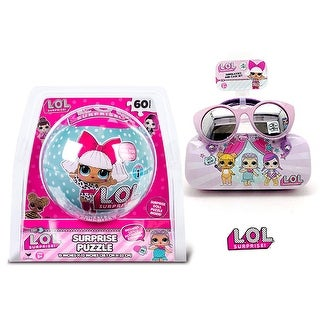 LOL Surprise Puzzle In a Ball and Sunglasses with Case (2 Items)