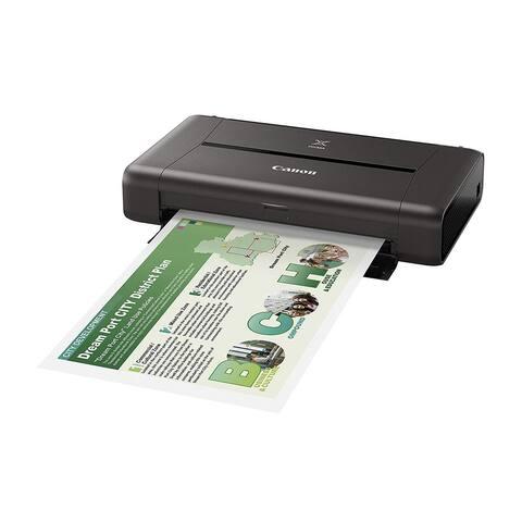 Canon PIXMA iP110 Printer Canon PIXMA iP110 Inkjet Printer - Color - 9600 x 2400 dpi Print - Photo Print - Portable - 9 ipm Mono
