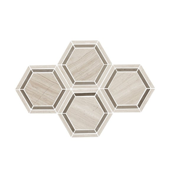 Shop Daltile Hexmsu Limestone Collection