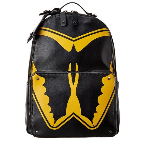 Valentino Leather Backpack - NoSize
