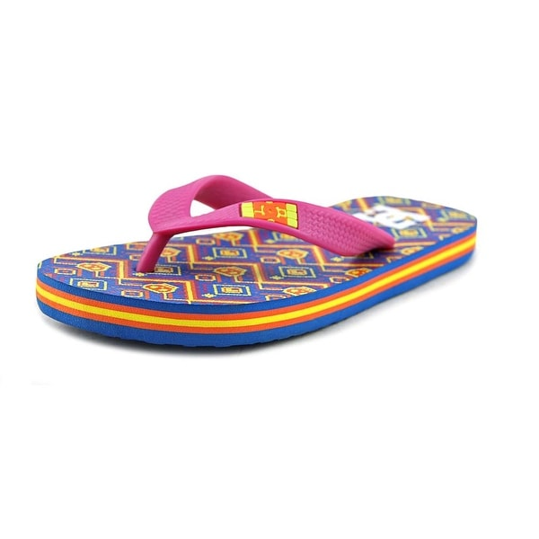3f5e7e1815f055 Shop DC Shoes Spray Graffik Open Toe Synthetic Flip Flop Sandal - Free  Shipping On Orders Over  45 - - 17838727