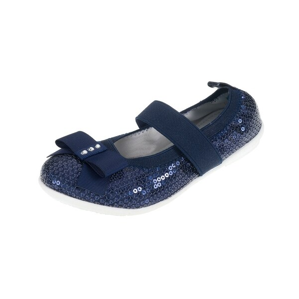 914236d2 Shop Lelli Kelly Lk4700 Girl's Sequin Ballet Flats With Strap - Free  Shipping Today - Overstock - 14390644