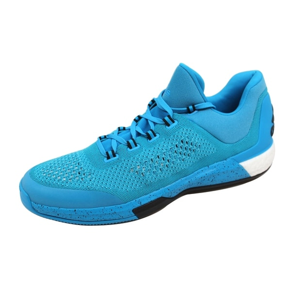 Adidas Men's 2015 Crazylight Boost Primeknit Bright Cyan James Harden S85577 Size 18