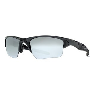 Oakley Half Jacket 2.0 XL OO9154-01 Polished Black Iridium Men Sport Sunglasses - polished black - 62mm-15mm-133mm