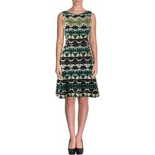Vince Camuto Womens Sleeveless Knee-Length Wear to Work Dress