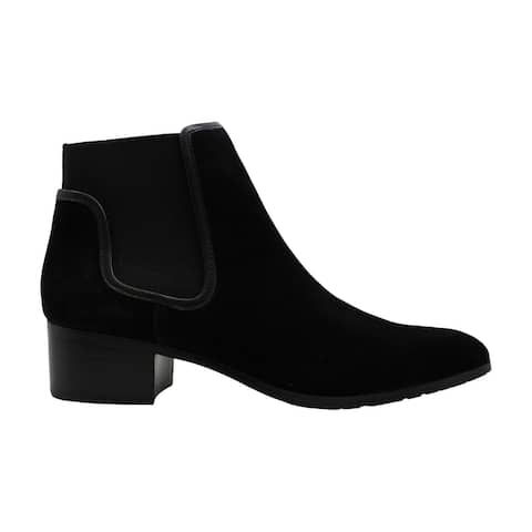 Donald J Pliner Womens dyla Suede Closed Toe Ankle Chelsea Boots