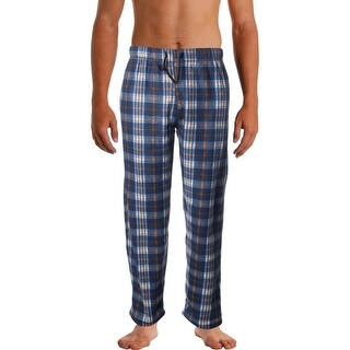 Sahara Club Mens Sleep Pant Fleece Plaid