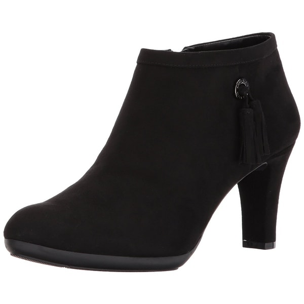 Anne Klein Women's Silva Fabric Ankle Boot