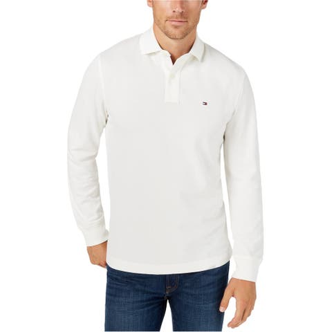 Tommy Hilfiger Mens Ls Rugby Polo Shirt