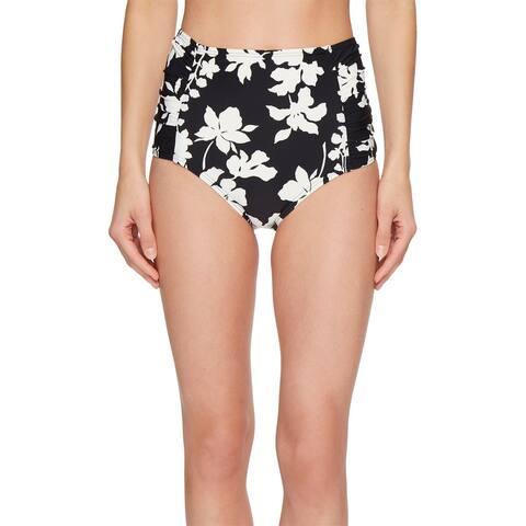 Michael Kors Black Womens Size Large L Bikini Bottom Swimwear