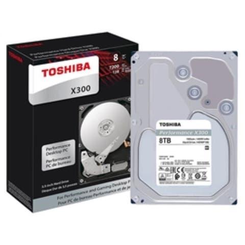 Toshiba Hard Drives HDWF180XZSTA 8TB 3.5 inch 7200RPM 128M 6.0Gb/s X300 Series Retail