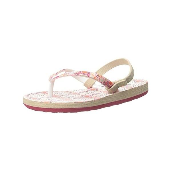 Roxy Girls TW Pebbles Sandals Printed