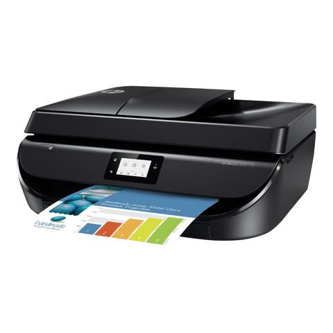 HP OfficeJet 5255 All-in-One Printer, Certified Refurbished (M2U75A)