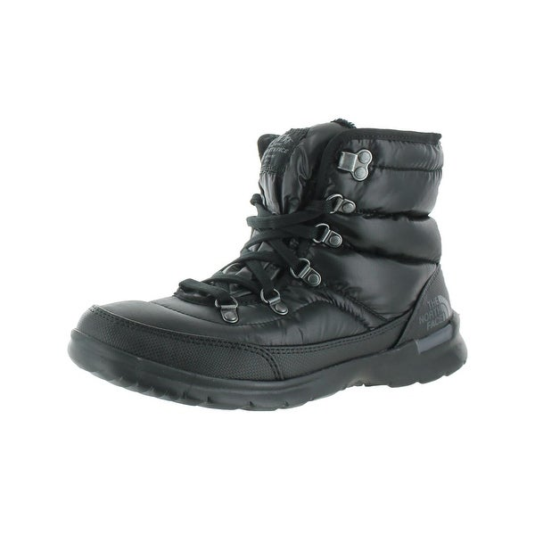 The North Face Womens Thermoball Lace II Winter Boots Fleeced Lined Lace-Up