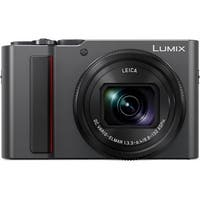 Panasonic LUMIX ZS200 20MP MOS Sensor 4K 30p Video LVF Digital Camera (Silver)
