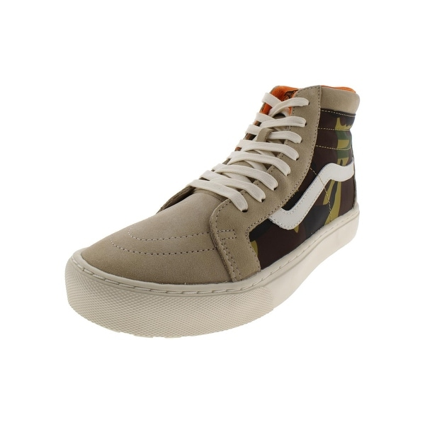 a87c16c9b89326 Shop Vans Mens Sk8-Hi MTE Cup LX High Top Sneakers Suede Camouflage ...
