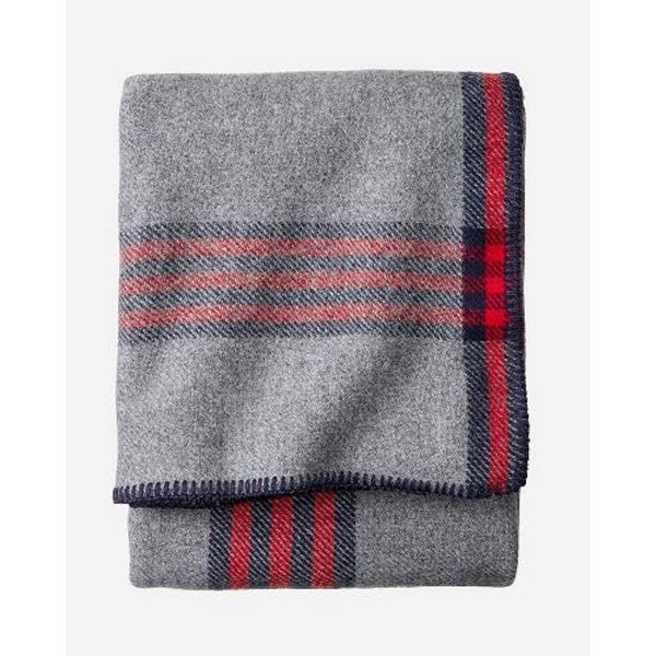 Pendleton Eco-wise Camp Plaid Blanket King. Opens flyout.