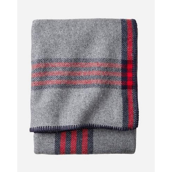 Pendleton Eco-wise Camp Plaid blanket Queen. Opens flyout.