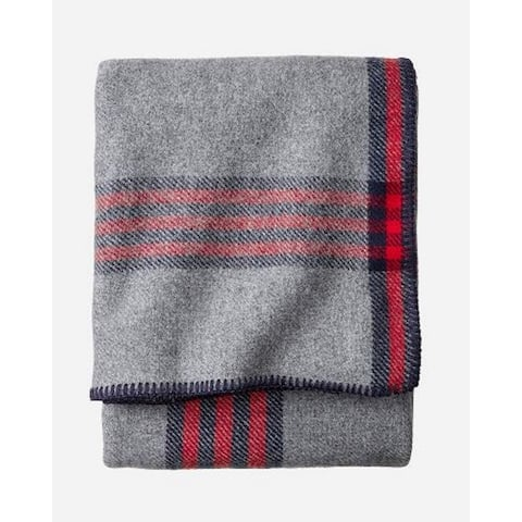 Pendleton Eco-wise Camp Plaid blanket Queen