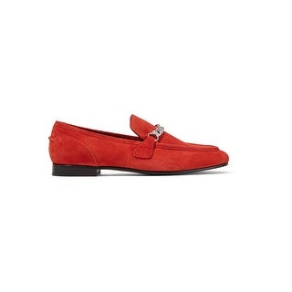 Rag & Bone Cooper Red Suede Loafers
