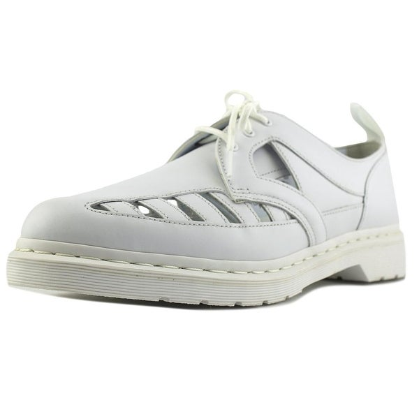 Dr. Martens Air Wair 1461 CO Women Open Toe Leather White Sandals