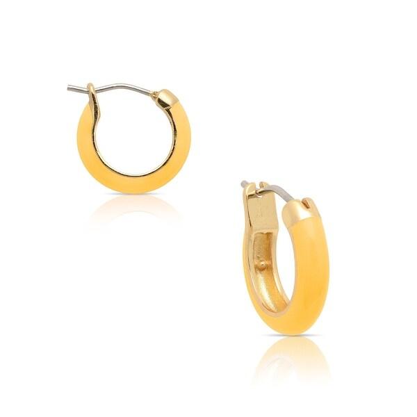 Lily Nily Girl's Honey Hoop Earrings - Orange