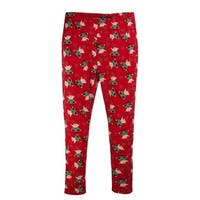 Just One Women's Plus Size Christmas Elves Holiday Leggings