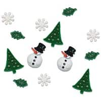 Christmas Past - Dress It Up Holiday Embellishments