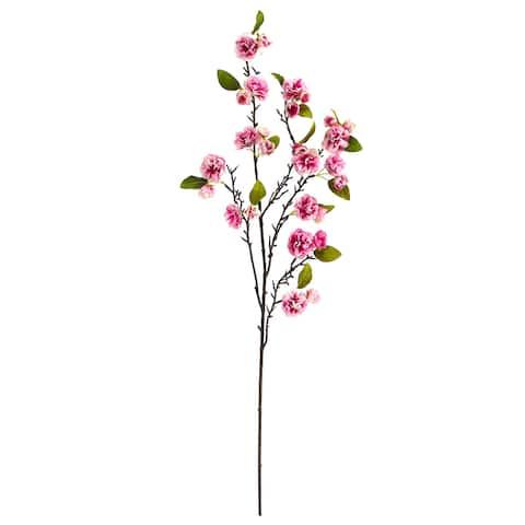 """41"""" Cherry Blossom Artificial Flower (Set of 3)"""