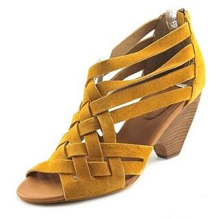Corso Como Genni Open Toe Suede Sandals