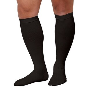 Men's Support Plus Firm Compression Support Brown Dress Socks (3 options available)