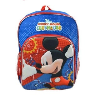 Mickey 16 in Backpack With Molded Character & Printed Background