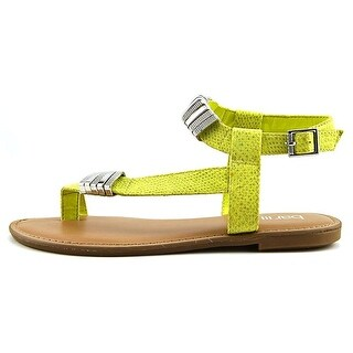 Bar III Womens Verna Open Toe Casual Strappy Sandals