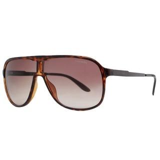 CARRERA Aviator NEW SAFARI Unisex KMF XT Havana Brown Brown Gradient Sunglasses - 62mm-8mm-140mm