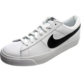 Nike Nike Match Supreme Ltr Round Toe Leather Sneakers
