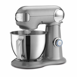 Cuisinart Precision Master 3.5-Quart Stand Mixer (Silver Lining)