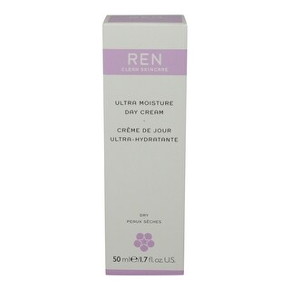 REN Skincare Ultra Moisture Day Cream, 1.7 Fluid Ounce