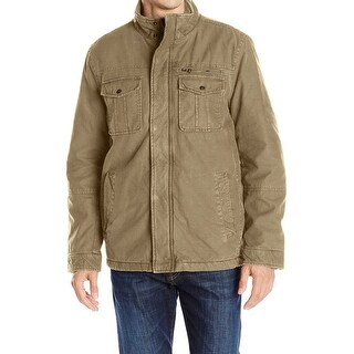 G.H. Bass & Co. NEW Beige Men's Size Medium M Dual-Pocket Jacket