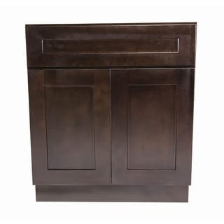 """Design House 561985 Brookings 33"""" Double Door Base Cabinet with Drawer"""